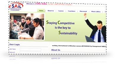 portfolio school college institute educational site web design